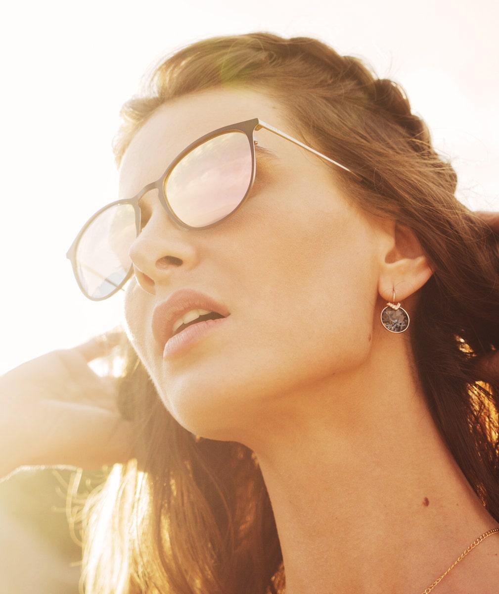 Lunettes de soleil femme verres polarisants
